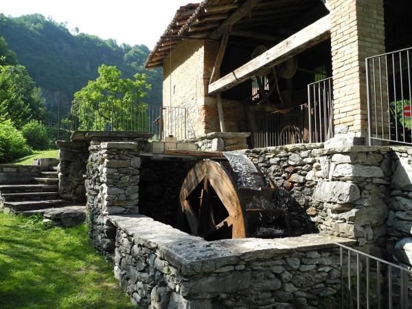 Ecomuseo Val Sanagra - La ruota idraulica