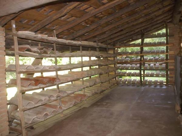 Ecomuseo Val Sanagra - Fornace Galli, essiccatoio (mattoni, mattonelle e coppi)