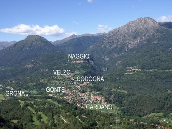 Ecomuseo Val Sanagra - Grandola e le sue frazioni viste dai monti di Croce