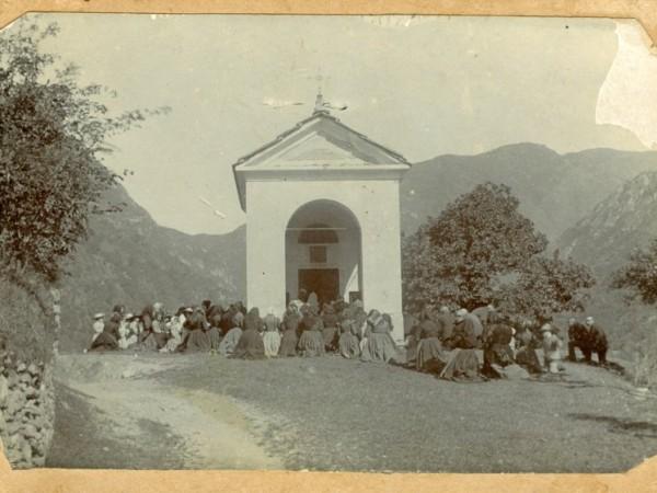Ecomuseo Val Sanagra - Cappella di San Rocco - foto storiche