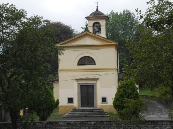 Ecomuseo Val Sanagra - Chiesa della Madonna Addolorata, facciata - Naggio