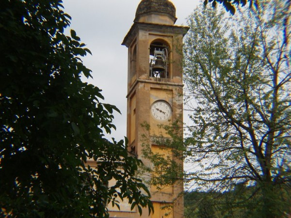 Ecomuseo Val Sanagra - Campanile, Chiesa di S. Antonio Abate - Naggio