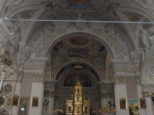 Ecomuseo Val Sanagra - Chiesa dei SS. Siro e Margherita, interno - Codogna