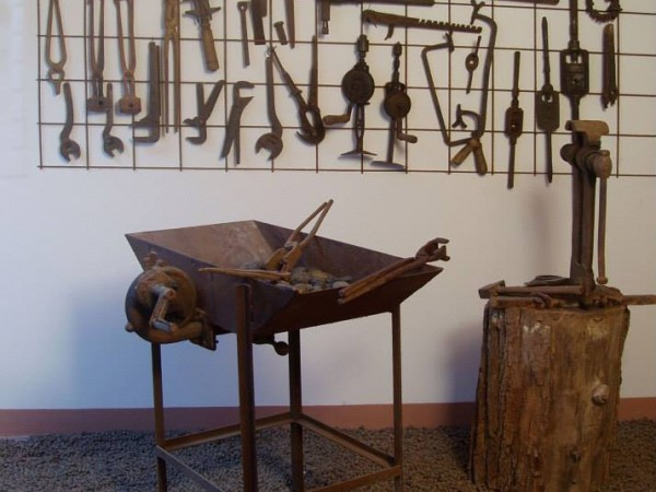 Ecomuseo Val Sanagra - Strumenti fabbro - Museo Val Sanagra