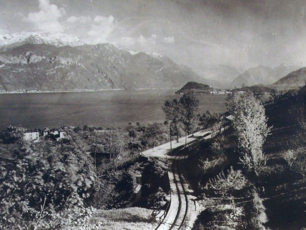 Ecomuseo Val Sanagra - La ferrovia Menaggio - Porlezza, foto storica