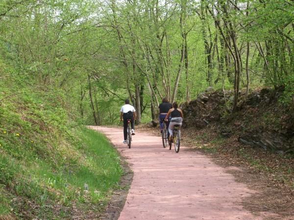 Ecomuseo Val Sanagra - La ferrovia Menaggio - Porlezza: oggi pista ciclabile