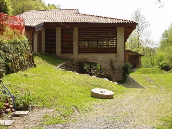 Ecomuseo Val Sanagra - La Fornace Galli, ingresso