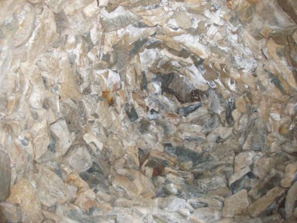 Ecomuseo Val Sanagra - Nevera Logone - soffitto a volta