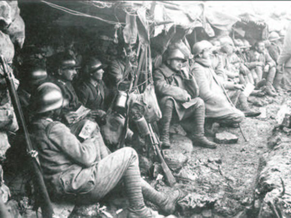 Ecomuseo Val Sanagra - Soldati al fronte