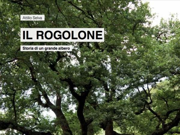 """Ecomuseo Val Sanagra - Copertina del nuovo libro """"Il Rogolone, storia di un grande albero"""""""