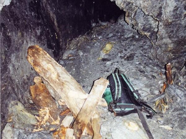 Ecomuseo Val Sanagra - Interno seconda miniera