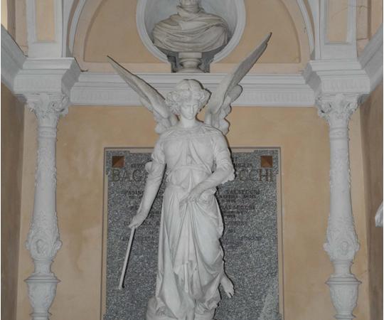 Ecomuseo Val Sanagra - L'angelo in gesso di Tantardini