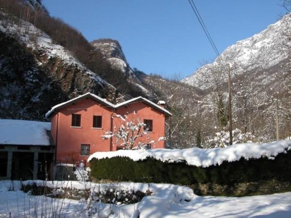 Ecomuseo Val Sanagra - Vecchia Chioderia innevata