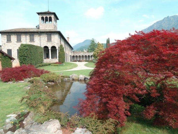 Ecomuseo Val Sanagra - Villa Bagatti Valsecchi con scorcio dello splendido giardino