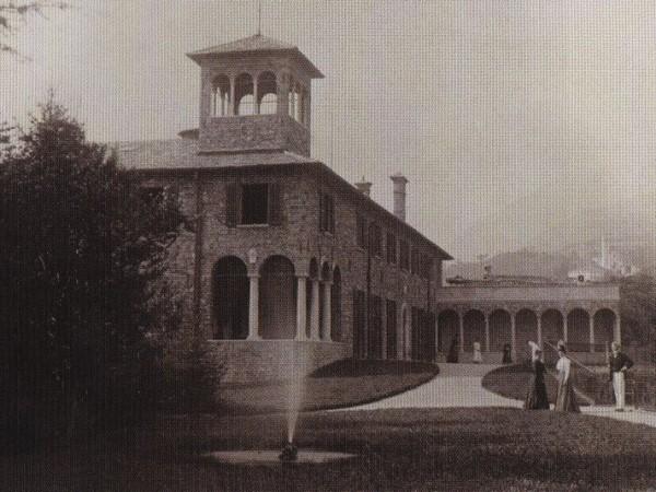 Ecomuseo Val Sanagra - Villa Bagatti Valsecchi - foto storiche